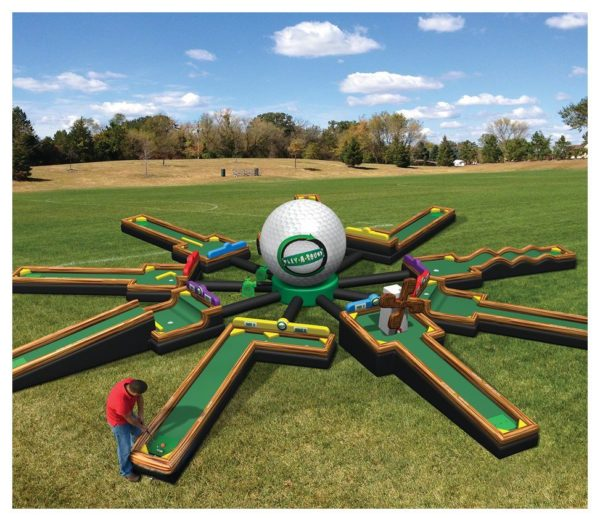9 Hole Inflatable Golf Rental