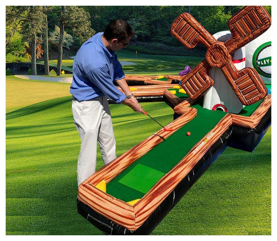 Play A Round 9 Hole Mini Golf Rental Fantasy World