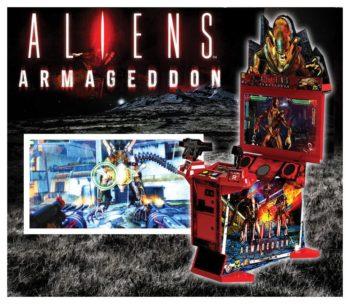Alien Armageddon Arcade Game
