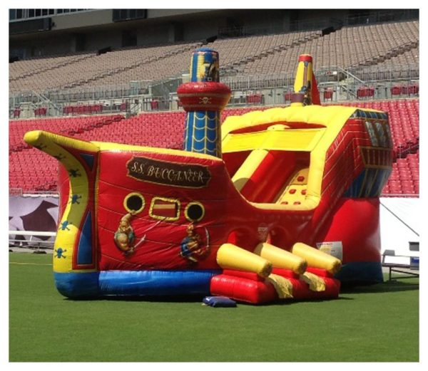 Buccaneer Fun Park Inflatable