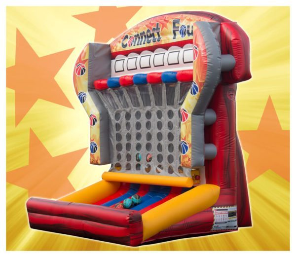 Connect Four Competitive Party Rental