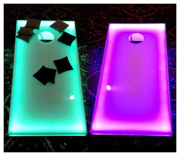 LED Cornhole Board Rentals