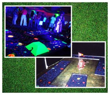 Cosmic Golf Mini Golf Rental