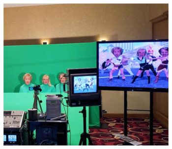 Dance Heads Green Screen Rentals
