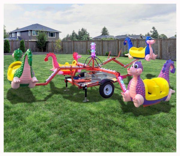 Soaring Dragon Carnival Ride Rentals