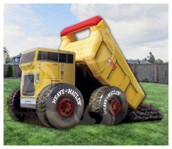 Dump Truck Slide Rental