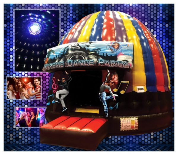 Extreme Dance Party Inflatable Bouncer