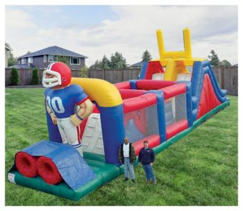 Football Challenge Obstacle Course