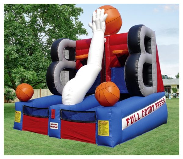 Full Court Basketball Press Inflatable