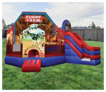 Funny Farm Combo Bouncer