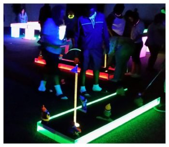LED Mini Golf