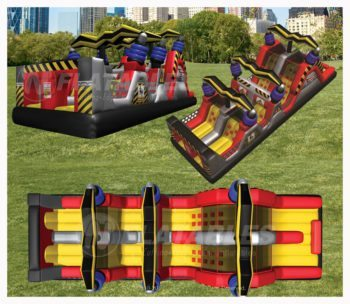 High Voltage Obstacle Course Rental