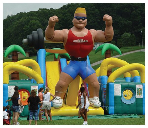 Ironman Obstacle Course