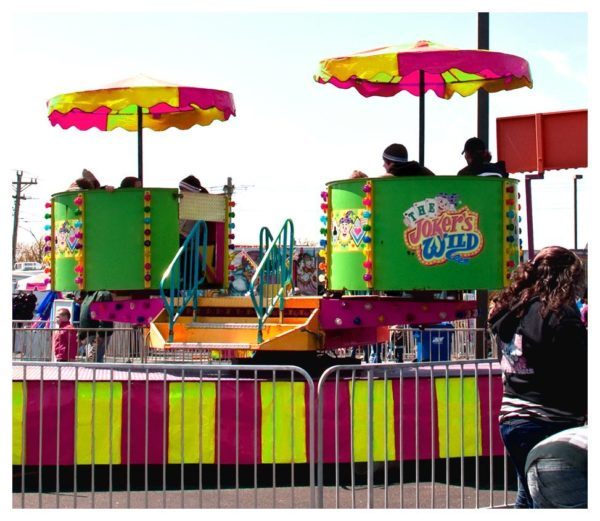 Jokers Wild Carnival Ride