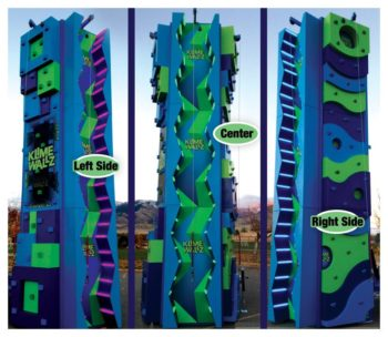 Klime Wallz Rock Wall Rental