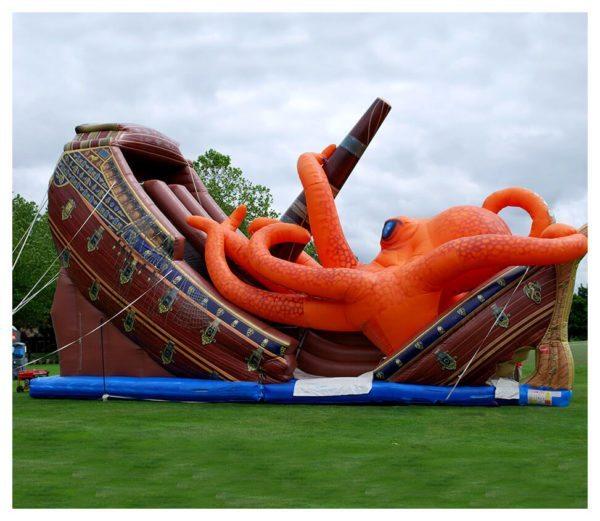 Kraken Themed Slide Rental