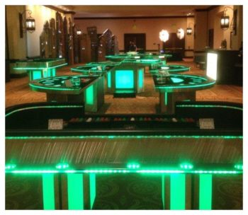 LED Casino Table Rentals