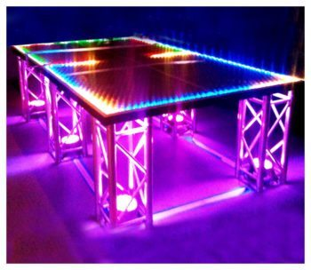 LED Ping Pong Arcade Rental