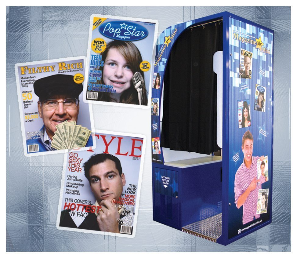 Magazine Me Photo Booth Rental - Fantasy World Entertainment - MD