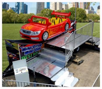 Mini Disco Car Carnival Ride Rentals