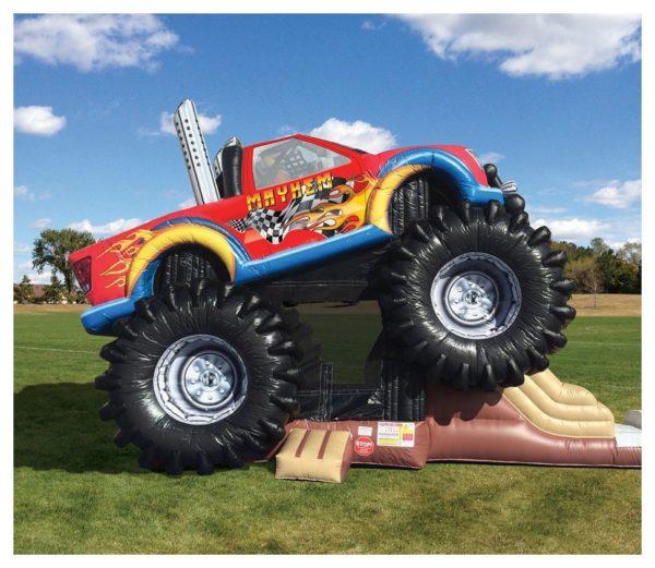 Monster Truck Combo Bouncer