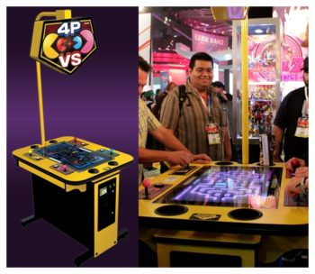Pac Man Battle Royale Arcade Game Rental