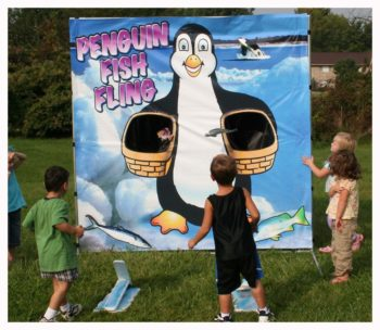Penguin Fish Fling Carninval Game