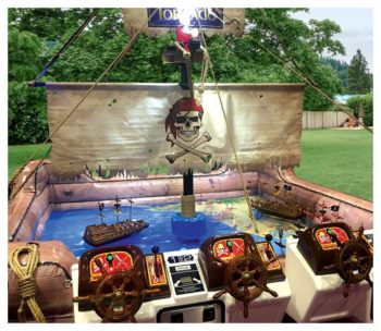 Pirates Plunder Arcade Game Rental