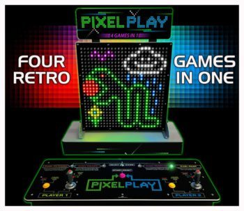 Pixel Play Arcade Game Rental