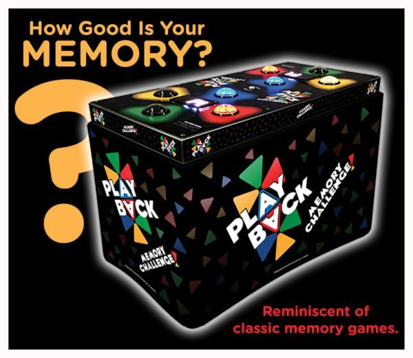 Play Back Arcade Game Rental