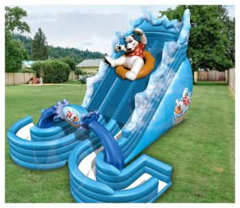 Polar Bear Plunge Water Slide Rental