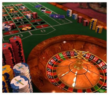 Roulette Casino Table Rental