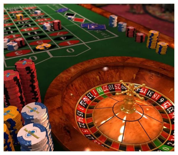 Roulette Casino Table Rental