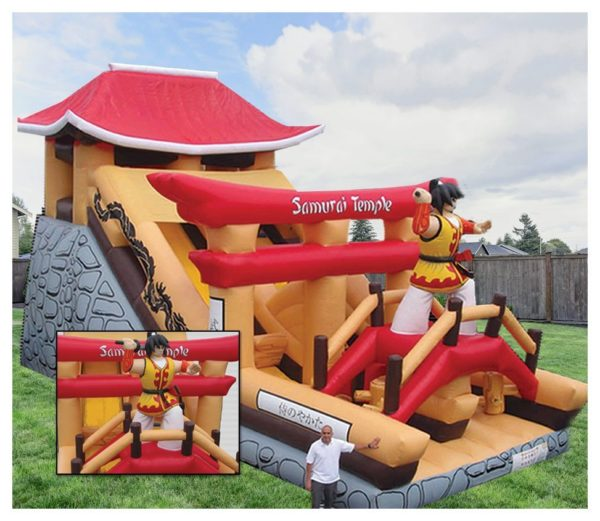 Samurai Temple Slide