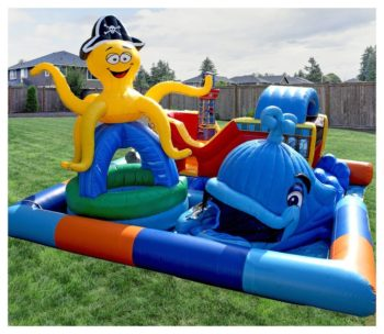 Sea Park Kiddie City Inflatable