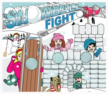 Snowball Fight Carnival Game