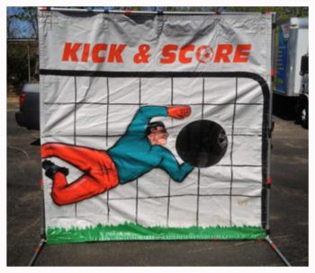 Soccer Kick Carnival Game