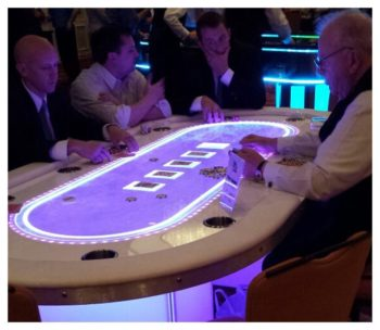 LED Texas Holdem