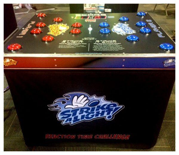 Strike A Light Arcade Game
