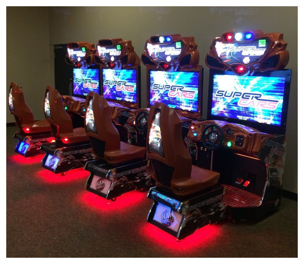 Super Cars Arcade Game Rental Party Rentals Maryland
