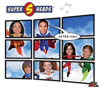 Super Heads Green Screen