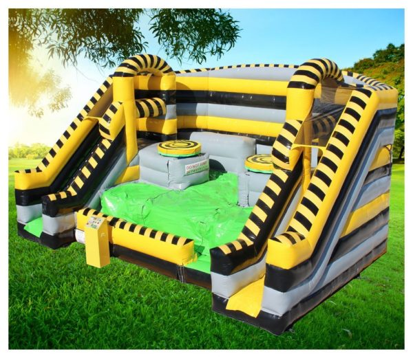 Toxic Twister Obstacle Course
