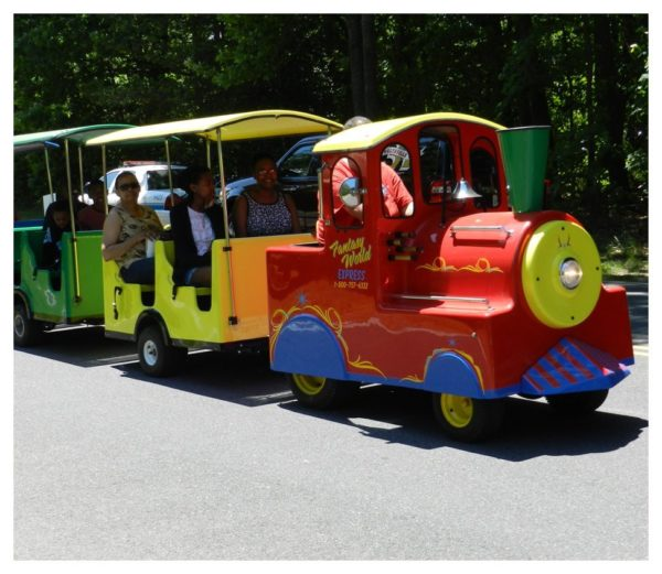 Trackless Train Ride Rental