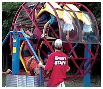 4 Person Tumbler Carnival Ride Rental