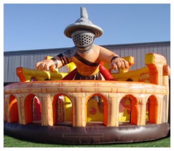 Ultimate Gladiator Inflatable Fun Park