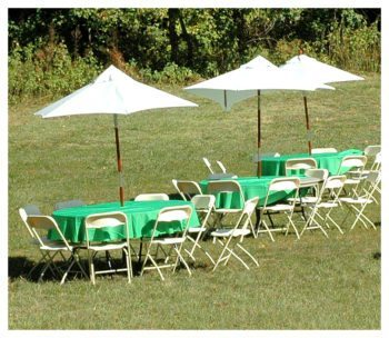 Umbrella Table Rentals