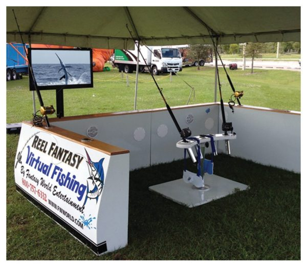 Virtual Fishing Party Rental