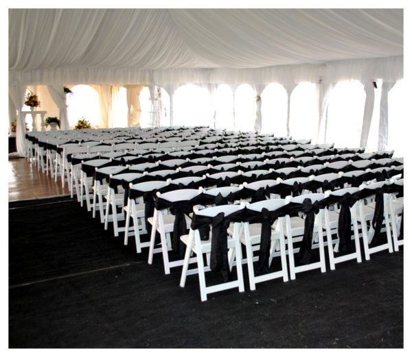 Wedding Folding White Chair Rentals