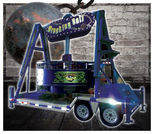 Wrecking Ball Carnival Ride Rental