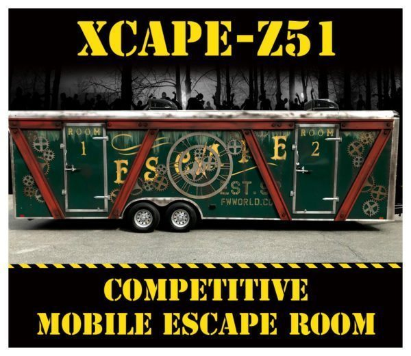 Rent Maryland's best Competitive Mobile Escape Room from Fantasy World!